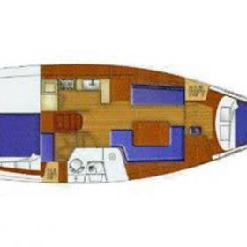 oceanis40 layout pic10